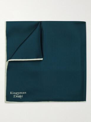 Kingsman + Drake's Silk Pocket Square