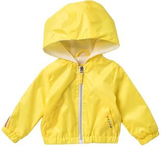 Pink Platinum Rainbow Windbreaker Rain Jacket (Baby Girls)