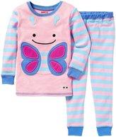Skip Hop Butterfly Zoojamas Pajamas (Toddler/Kid) - Multi-4T