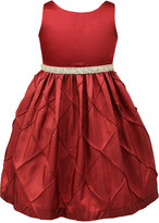 Jayne Copeland Embellished Pintuck-Detail Special Occasion Dress, Toddler & Little Girls (2T-6X)