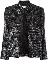 Zadig & Voltaire beaded detail jacket - women - Polyester/Cotton/Silk - S