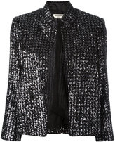 Zadig & Voltaire beaded detail jacket - women - Silk/Cotton/Polyester - S