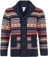 Monsoon Monkey Fairaisle Knitted Cardigan