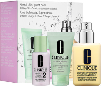 Clinique Great Skin, Great Deal Set for Dry Combination Skin