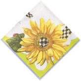 Mackenzie Childs MacKenzie-Childs Sunflower Paper Cocktail Napkins