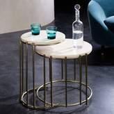 west elm Messina Nesting Side Tables