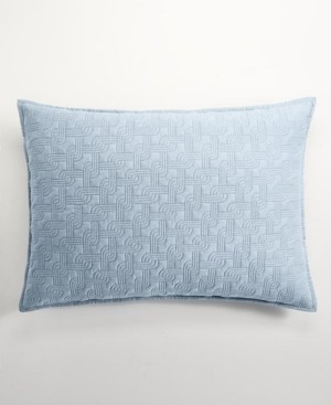 Hotel Collection Parallel Quilted Standard Sham, Created for Macy's Bedding