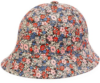 Gucci Floral Print Bucket Cap