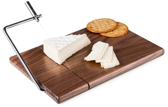Picnic Time Meridian Cutting Board and Cheese Slicer