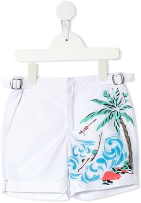 Orlebar Brown Kids Russell swim shorts