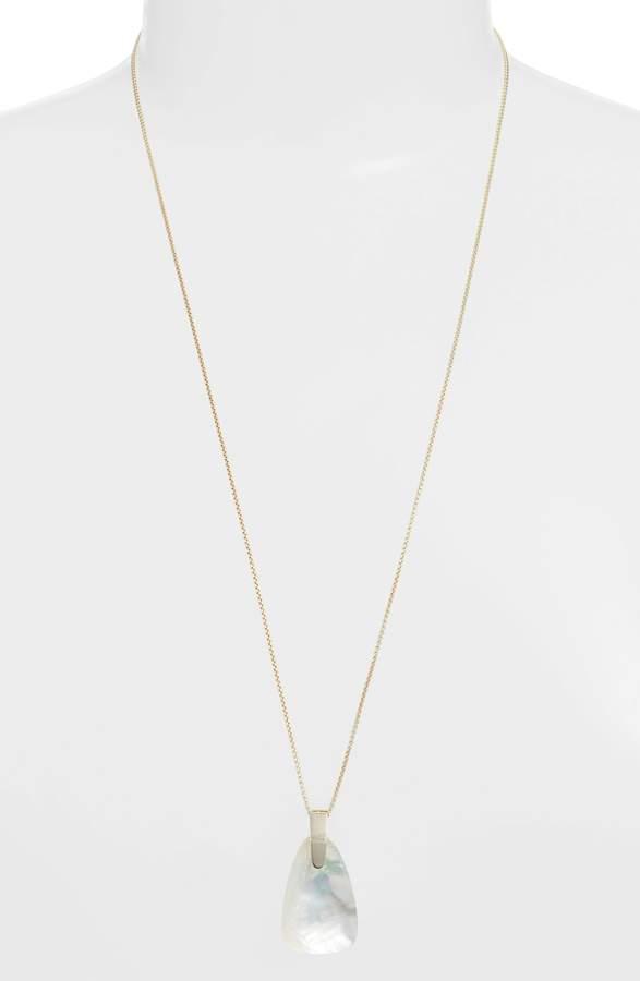 Kendra Scott Maeve Long Stone Pendant Necklace
