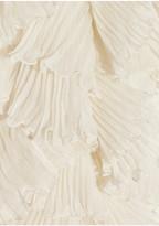 Dolce & Gabbana Ruffled silk blouse