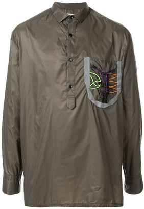 Kolor Button Collar Shirt Jacket