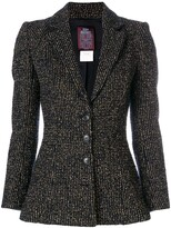 Thumbnail for your product : John Galliano Pre-Owned Metallic Striped Blazer