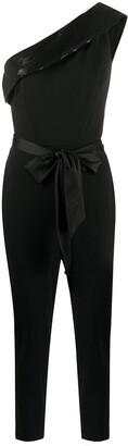 Lauren Ralph Lauren Sequin-Embellished One-Shoulder Jumpsuit