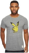 The Original Retro Brand Playboy Short Sleeve Tri-Blend Tee