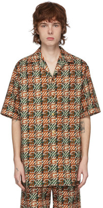 Gucci Multicolor G Print Short Sleeve Shirt