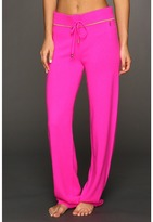 Juicy Couture Cashmere Track Pant (Pink Cerise) - Apparel