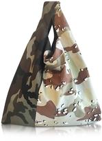 MM6 Maison Martin Margiela Camouflage Canvas Market Bag