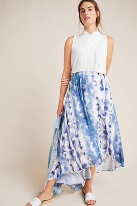 Hutch Jeannie Tie-Dyed Maxi Skirt