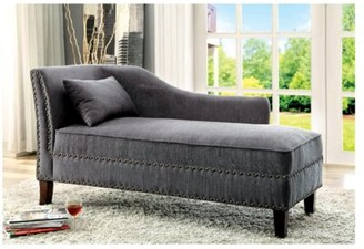 Canora Grey Otto Chaise Lounge Color: Gray