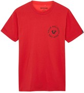True Religion Red Cotton T-shirt