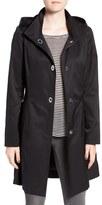 CeCe Women's 'Ellie' Turn Key Raincoat With Detachable Hood