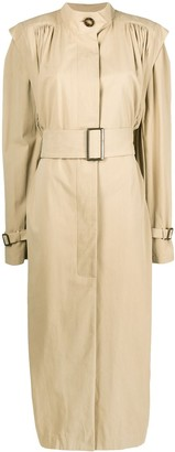 ATTICO Oversized Belted Trench Coat