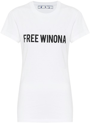 Off-White Free Winona cotton jersey T-shirt