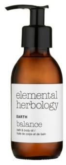 Elemental Herbology Earth Balance Bath Body Oil, 5 fl oz