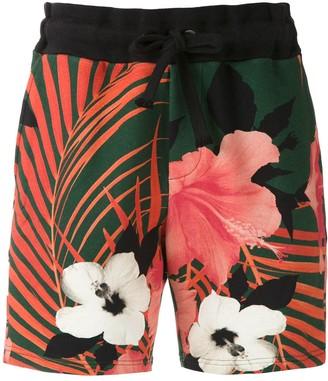 OSKLEN Printed Cotton Shorts
