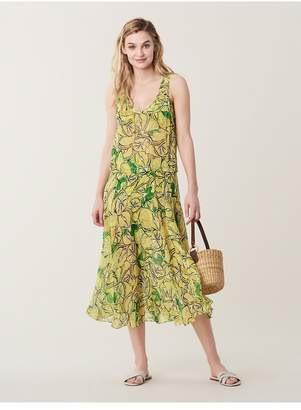 Diane von Furstenberg Evana Chiffon Beach Cover-Up