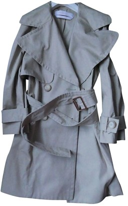 See by Chloe Beige Cotton Trench Coat for Women