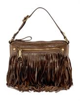 Fringe Babydoll Shoulder Bag