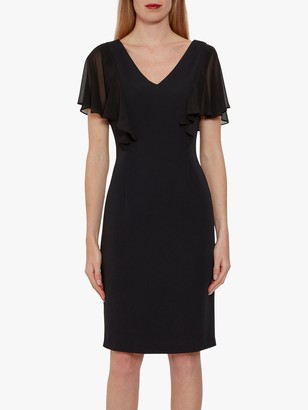 Gina Bacconi Braila Moss Crepe Dress
