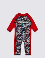 Marks and Spencer 2 Piece Spider-ManTM Swim Outfit (2-8 Years)