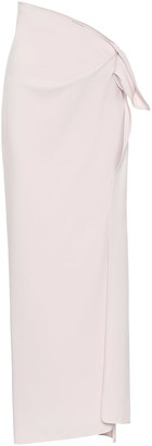 Maticevski Promised stretch-crepe maxi skirt