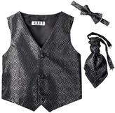 AXNY Three Piece English Vest Set (Toddler, Little Boys, & Big Boys)