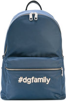 Dolce & Gabbana Volcano #dgfamily backpack - men - Calf Leather/Acrylic/Nylon/Polypropylene - One Size