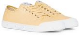 Spring Court G2 Canvas Plimsolls Yellow