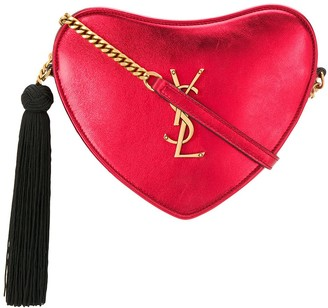 Saint Laurent monogram heart cross body bag