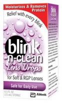 Blink N Clean Daily Use Lens Drops - 0.5 oz