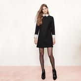 Maje Short dress with trompe-l'oeil effect