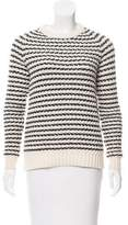 Theory Wool Patterned Sweater