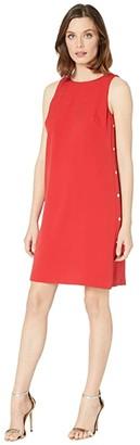 Lauren Ralph Lauren Julieth Dress (Persimmon) Women's Dress