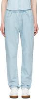Sunnei Blue Denim Lounge Jeans