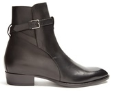 Saint Laurent Wyatt Jodhpur Leather Boots