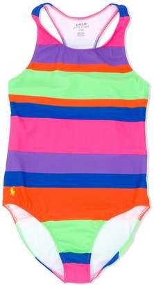 Ralph Lauren Kids TEEN striped swimsuit