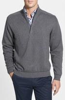 Cutter & Buck 'Broadview' Half Zip Sweater (Big & Tall)