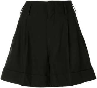 Comme Des Garçons Pre-Owned Loose-Fit Pleated Shorts